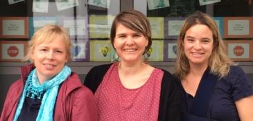 Irene Hiltbrunner, Claudia Hartmann, Jeanette Besmer