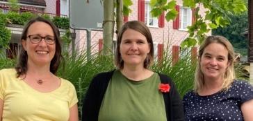 Maike Luttenberger, Claudia Hartmann, Jeannette Besmer
